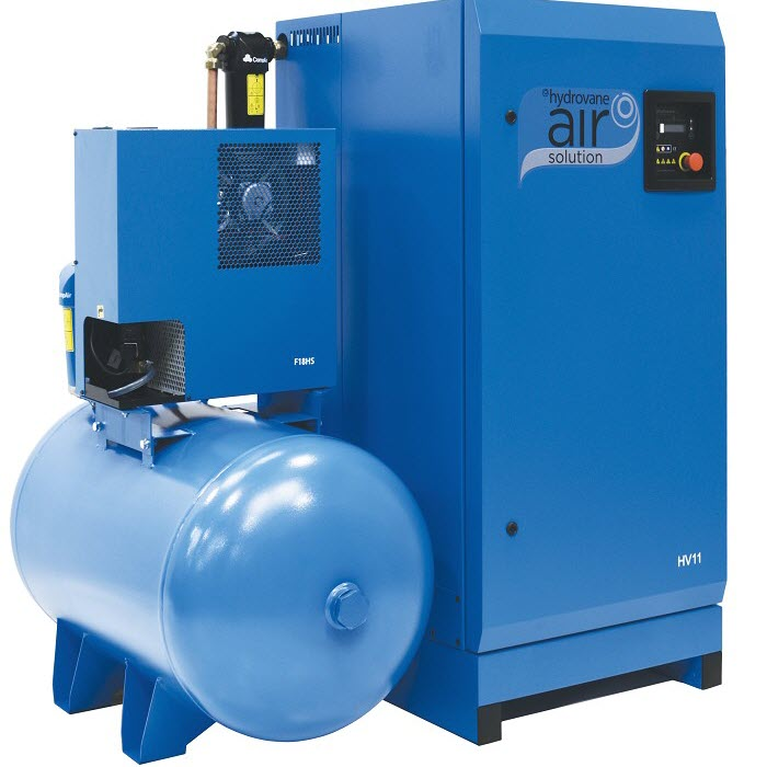 Hydrovane 11-22 kW Intergrated Dryer & Receiver Solution - Regulated Speed